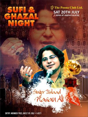 SUFI AND GHAZAL NIGHT – JULY 2019