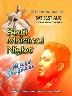 SUFI MUSICAL NIGHT – AUG 2019