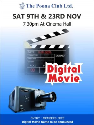 DIGITAL MOVIE 2 – 23RD NOV 2019